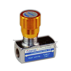 DV/DRV Hydraulic Adjustable Flow Control Valve
