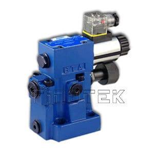 Válvula de alivio de presión hidráulica DBW