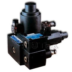 Válvula de control de flujo hidráulico de presión proporcional EFBG