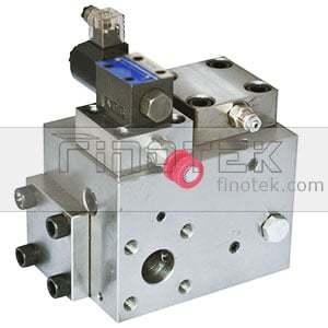 Hydraulic Valve Manifold block