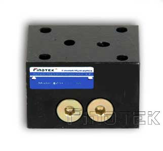 2FRM5 – 2 Way Flow Control Valve Rectifier Subplate