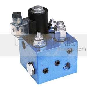 Compact idraulico cartuccia della valvola collettore