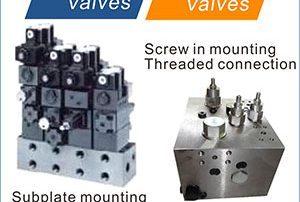 유압 밸브 유형