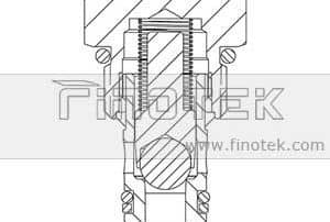 CV08-20 Semak Struktur Cartridge Valve
