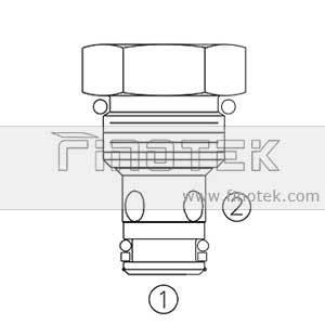 CV08-21 ملف تعريف صمام الاختيار خرطوشة