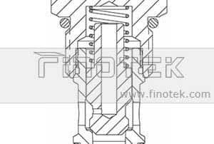 CV12-20 hidraulice Verificați Valve Structură Cartuș