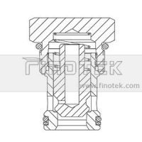 CV16-20 Screw-In Hydraulic Check Cartridge Valve Structure