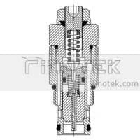 Cartridge-Pressure-Relief-Valve-Inner-Structure