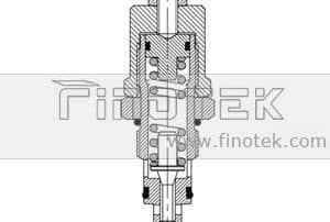 Terus-Operated-Relief-Cartridge-Valve-Inner-Struktur
