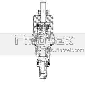 Direct-Operated-Relief-Cartridge-Valve-Inner-Structure