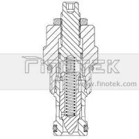 FC12-20 Flow Control Cartridge Ventilstruktur