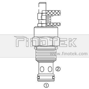 FC12-20 Flow Control Cartridge Valve