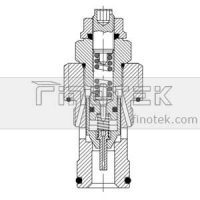 Hydraulic-Relief-Cartridge-Valve-Inner-Estrutura