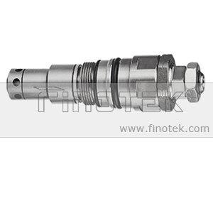 Kobelco SK200-5, 200 SK6-excavadora de control principal, la válvula de alivio de presión