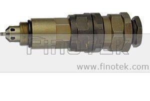 Válvula Komatsu Control, Komatsu PC200-7 Escavadeira, controle de pressão, segunda válvula de alívio