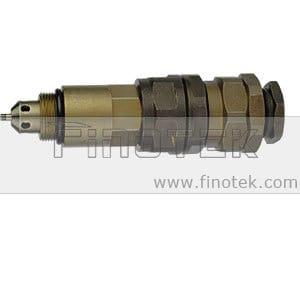 Controle de pressão Komatsu PC200-7, segunda válvula de alívio