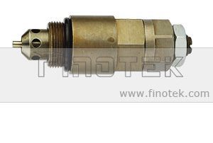 Komatsu PC200-6 Escavadeira, Controle de alívio de pressão, válvula de serviço