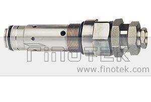 Komatsu-escavadora-PC-Model-Valve, -Komatsu-PC300-5-escavadora-Pressure-Control-Válvula