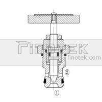 NM08-01 Flow Control Cartridge Valve Struture