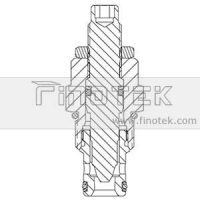 NV10-20 Flow Cartridge Valve Structure
