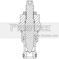 NV12-20 Flow Cartridge Valve Structure