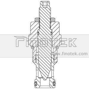 NV12-20 Screw-In Cartridge Flow Adjustment Valve