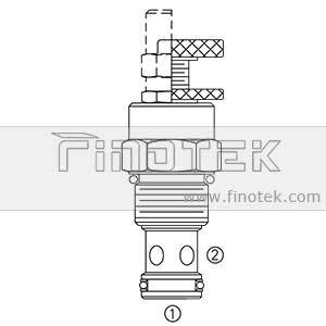 NV12-20 Flow Cartridge Valve