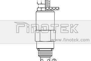 RV08-20 Direct-arte Pressure Control Relief Cartridge Valve