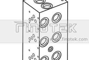 BM10PND Hydraulikverteiler