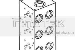 BM10PU idraulico Bar Collettore