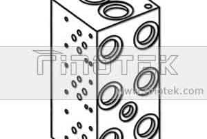 BM6PN Hydraulic Bar Manifold