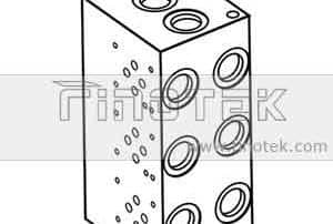 BM6PND Hydraulic Manifold