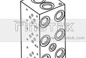 BM6SN Hydraulikverteiler