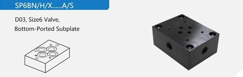 D03 Монтажная плита Низ адаптированное профиль