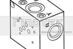 SP10S Side Ported Valve Subplate