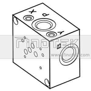 SP10S Side dialihkan Valve Subplate