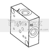 SP6S Side Ported Valve embases empilables,