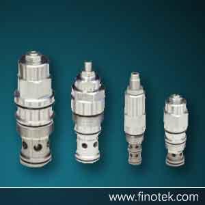 Valvola limitatrice di pressione della cartuccia idraulica